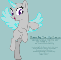 MLP Base 169 - About to Soar by Twiily-Bases