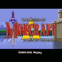Legend of Minecraft Title Screen by NG-yopyop