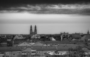 Rooftop Church by HenrikSundholm
