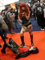 Poison Ivy cosplay 4 by SpideyVille