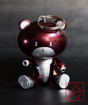 HGBF 1/144 Maroon Putchigguy by AndrewMS