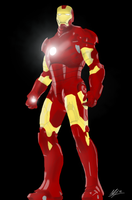 Iron Man by jourple