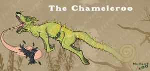 MuTanT Zoo - The Chameleroo by happymonkeyshoes