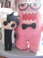 St.Jimmy Tony Vincent and DOMO by neon-sound-wave
