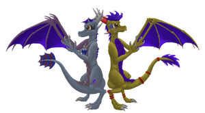 Dragon friends for ever by NewMoon-Dragoness