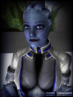 Mass Effect (Garry's Mod) Liara T'Soni by FREEDUNHILL