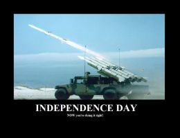 Independence Day Demotivation by GrandMasterSpike