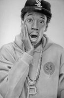 Wiz Khalifa Drawing by Rollingboxes