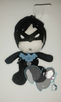 Nightwing Plushie (On Sale) by PiNKy0421