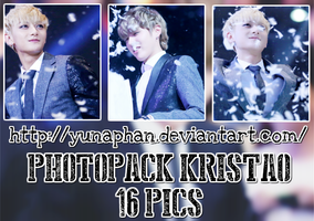 PHOTOPACK KrisTao (EXO) #178 by YunaPhan