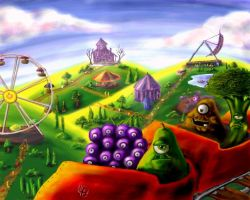 Veggies in Main Hall land by Holly-Toadstool