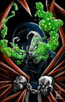Spawn Mugg by colepetersonart