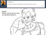Ask Vegeta 20 by Camron23