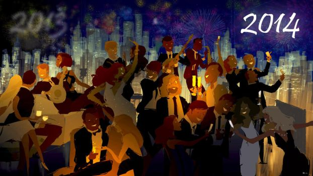 Happy New Year! by PascalCampion