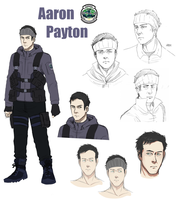 Resident evil OC Aaron Payton by Mafer