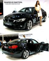 Four Series Gran Coupe by toyonda