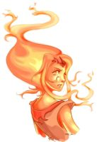 Flame Princess by phoenixflorid