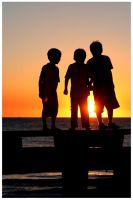 Sunset Kids by Zanc