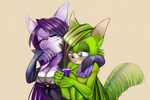 Kindness Boomerang: Neyla and Cyanid by Neyla-The-Lioness
