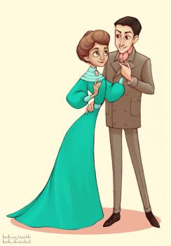 Mr. and Mrs. Chrestomanci by Kecky