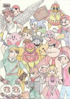Super Smash Bros Brawl Tribute by dreamweaver71
