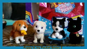 Puppy In My Pocket Series 2 Blind Bags by Vesperwolfy87