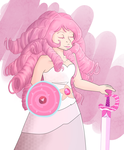 Rose Quartz by Ferchase