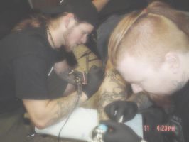Me and my brother casey tattoo by Articidal