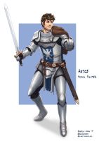 C: Artos, Knight by bchart