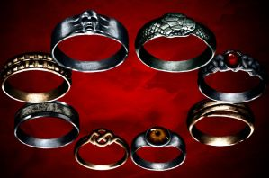 Rings by BaSHeL1K