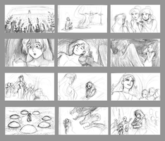 E+P-Storyboard Samples by queenbean3