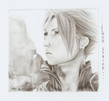 Cloud Strife by ToWhisper