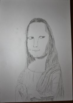 Mona Lisa by StevenDrawings