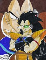 Raditz for No-Angel by Kabocha24