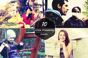 10 Cross Processing Action by symufa