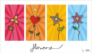 flowers by JDe