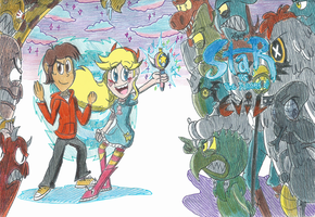 Disney's Star VS The Forces of Evil by FelixToonimeFanX360