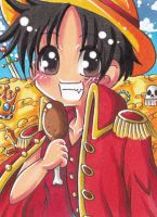 Luffy D.Monkey by LuckyAngelausMexx