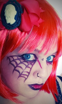 Redback Queen by LillithLaviathan