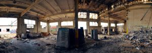 The Factory Panorama by shadowfax25