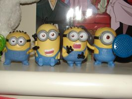 My despicable me minions by Muffinlover24