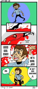 He's Dead, Jim. by enterprising-bones