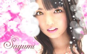 Wall Sayumi pink ver by RainboWxMikA