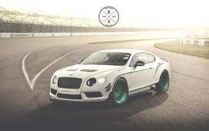 Bentley Continental GT3-R with HansenART Race Pack by ilPoli