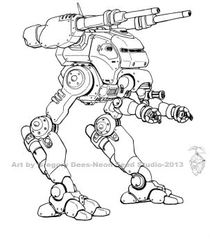 Strider Artillery Walker by GTDees