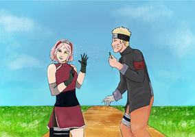NaruSaku - Naruto the Last Version by Sammy237