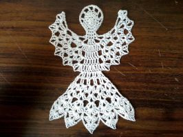 Angel Doily by koepr5333