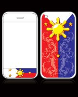 Pinoy Pride I-Phone Skin by Junon001