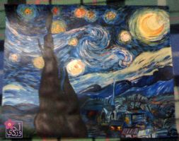 The Starry Night by ADPinky