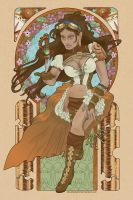 Steampunk Isabela by AbsoluteApril